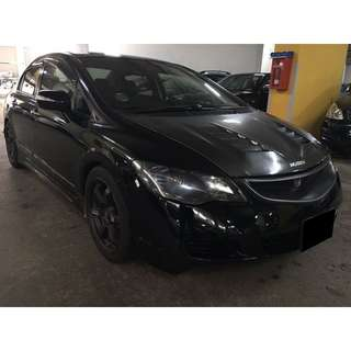 16/03-19/03/2018 HONDA CIVIC 1.8A ONLY $210.00 ( P PLATE WELCOME)