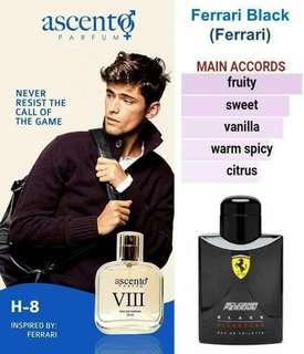 FOR HOMME inspired by ferrari