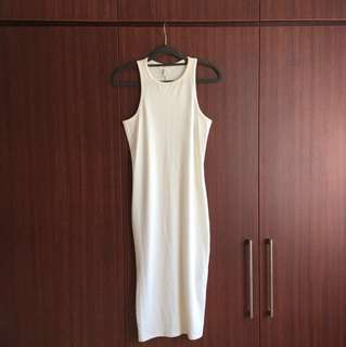Forever 21 White Bodycon Dress