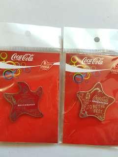 可樂㩒章,每個$20