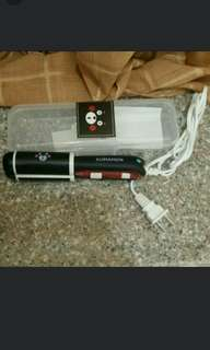 Mini Portable 2n1 Electric Hair Straightening & Curling Iron