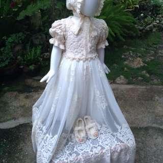 Vintage Baptismal Dress/Gown