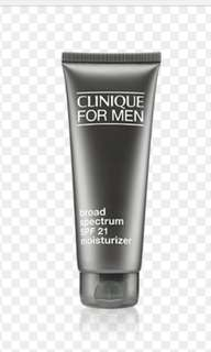 Clinque for men spf21moisturizer