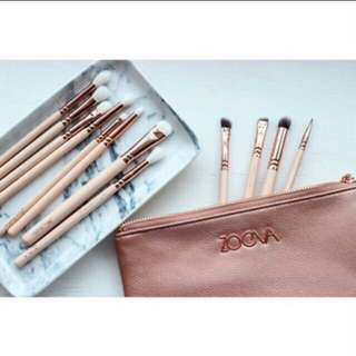 Zoeva inspired eye brush set