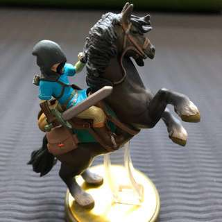 Zelda Breathe of the Wild Link Amiibo
