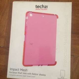 Tech21 Pink Case (Compatible w/ Apple Smart Cover) for iPad Mini with Retina Display