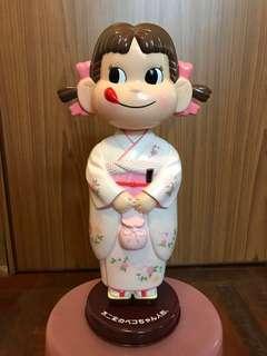 粉紅色和服版牛奶妹珍藏公仔