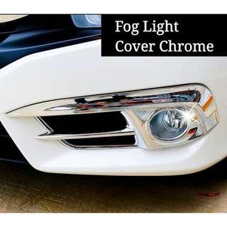 Honda Civic 2017 Front Fog Light Cover Chrome