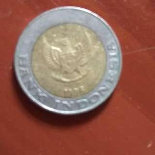 Uang Rp.  1000 Logam