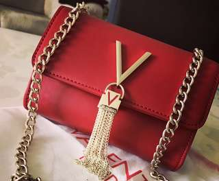 Valentino by Mario Valentino Diva chain bag