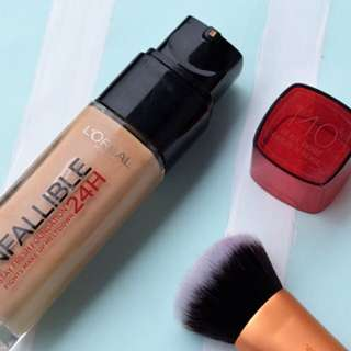 l'oreal infallible 24h foundation (140)