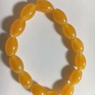 Yellow crystal bracelet for sale