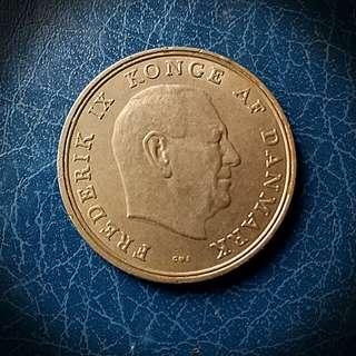 Denmark,5 Kroner-Frederick IX
