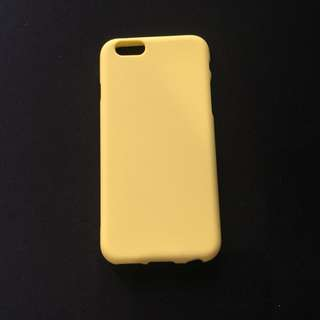 Yellow Candy Matte Slim Case for iPhone 6/6s