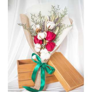 Flower Bouquet: Everlasting Love