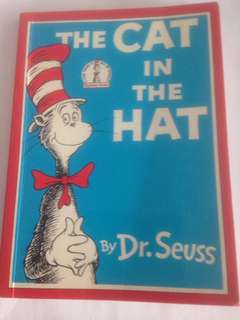 The Cat in the Hat by Dr Seuss (collector's item being first book Dr Seuss wrote for Beginner readers)