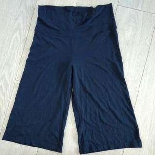 Old navy blue gaucho pants