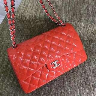 Chanel 雙蓋菱格JUMBO🍭【99新 】原價4萬多☝🏻現在秒價