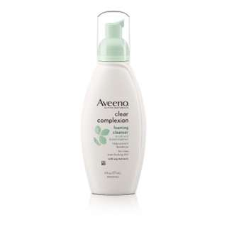 Aveeno Clear Complexion Foaming Cleanser 6 Ounce