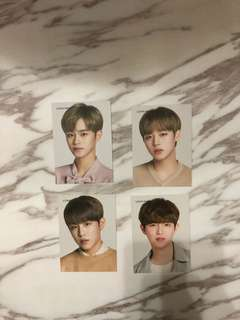 Wanna one lens nine 小卡