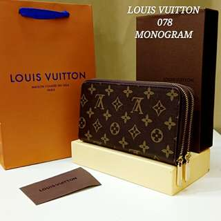 Louis Vuitton Wallet Double Zippy Wallet Monogram