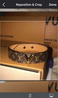 AUTHENTIC LV GOLD BRACELETS
