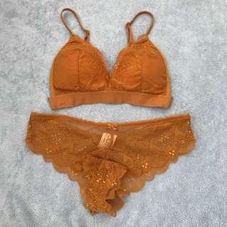 cotton on lingerie set