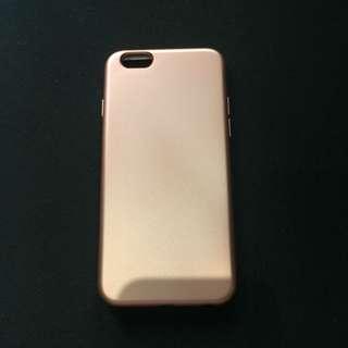 Rose Gold Premium NonFade Oil Coated Case for iPhone 6/6s
