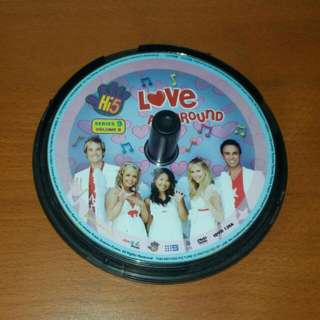 Hi5 Love All Around DVD