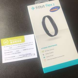 Fitbit Flex 2 運動追踪器 黑色 FB403BK 香港行貨