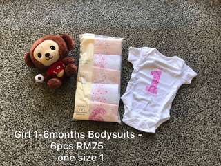 Bodysuits set imported from uk