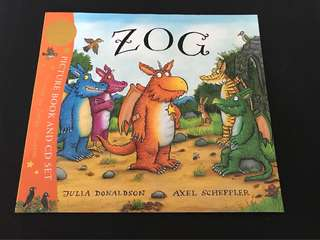 Zog by Julia Donaldson (with CD)