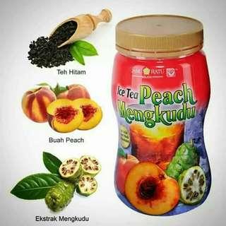 Ice Tea Peach Mengkudu 💕💕