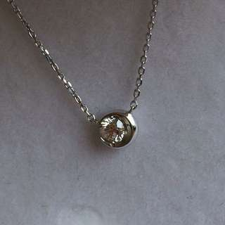 Diamond pendant necklace 鑽石吊咀連鏈