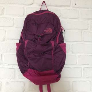 Authentic Northface Compact Backpack