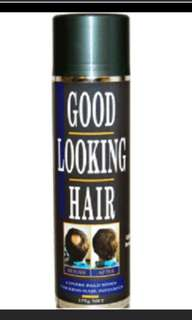 GLH fibre hair spray