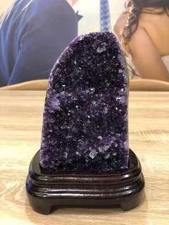 "玛瑙乌拉圭""紫晶片山"" Wulagui purple crystal"