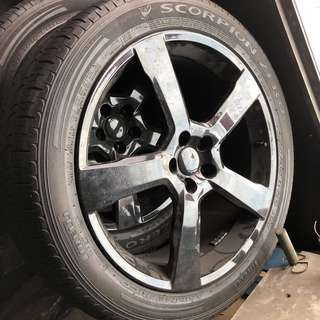 "Volvo XC60 T6 R-Design 20"" Wheels / Rims with Pirelli Scorpion Zero 255/45R20 Tyres"
