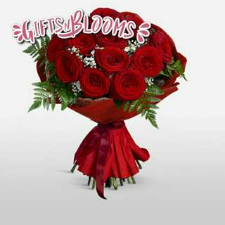 Fresh Flower Bouquet Surprise for Special Anniversary Birthday Gift V56 - UGBAY