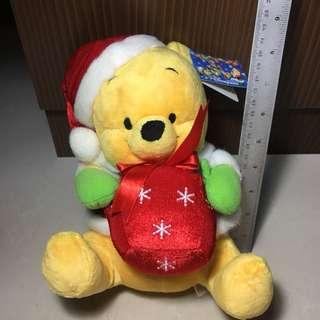 Hong Kong Disneyland Winnie The Pooh Plush Toy   Soft Toy