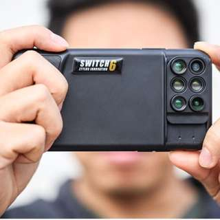 【iPhone X 專用】美國Switch 6 六合一鏡頭手機殼