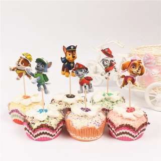 PAW PATROL Cupcake Topper (Pack of 10)