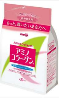 Preorder Meiji Amino Collagen Powder Refill 214g for 30 days