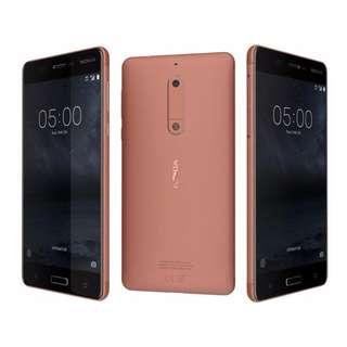 $18/1張 ,$20/2張 Nokia 5 (TA-1053)高清防指紋9H 強化玻璃保護貼0.26mm 麗康墨盒