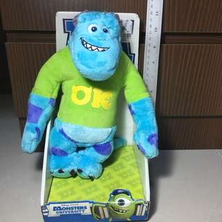 Monsters University Sulley Soft Toy   Plush Toy