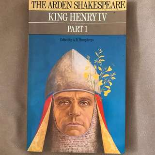 Arden Shakespeare: King Henry IV Part I