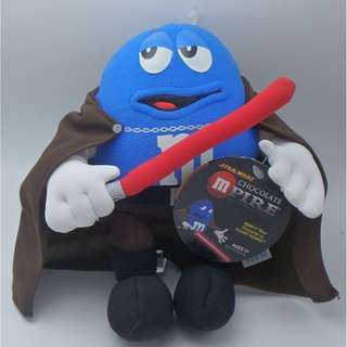 "M & M 's STAR WARS ""Blue Character as COUNT DOOKU"" 毛公仔"
