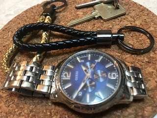 Leather Keychain / keyring