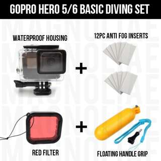 GoPro Waterproof Casing Diving Set