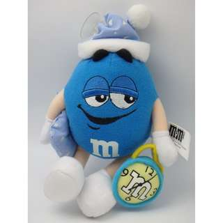 M & M 's Taday is Blue 可拉動/吊掛 公仔